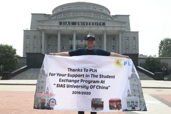 UMY Student Get a Scholarship from PLN to Study in China